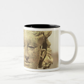 Head of Hypnos, or Sleep Two-Tone Coffee Mug