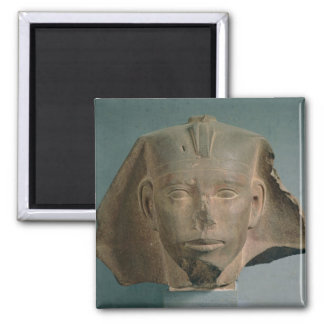 Head of King Djedefre, from Abu Roash, Old Kingdom Square Magnet
