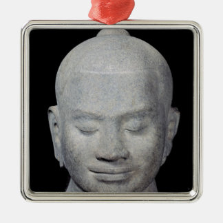 Head of King Jayavarman VII  Bayon Style Christmas Ornament