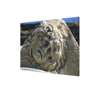 Head of Medusa Canvas Print