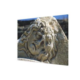 Head of Medusa Canvas Print