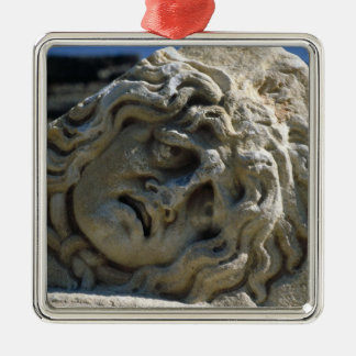 Head of Medusa Christmas Ornament