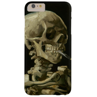Head of Skeleton with Cigarette by Van Gogh Barely There iPhone 6 Plus Case