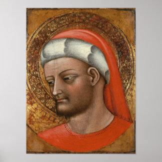 Head of St. Cosmas Poster