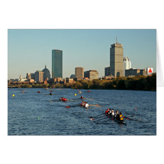 Head of the Charles Regatta Card