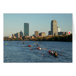 Head of the Charles Regatta Greeting Cards