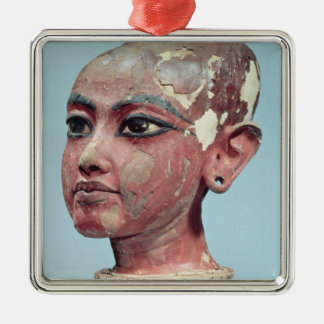 Head of the child king Tutankhamun emerging Christmas Ornament