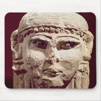 Head of the goddess Ishtar, from Amman, Jordan Mouse Pad