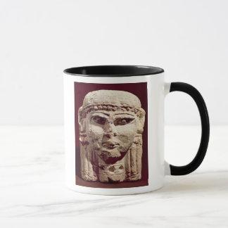 Head of the goddess Ishtar, from Amman, Jordan Mug