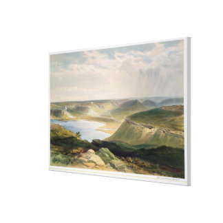 Head of the Harbour, Sebastopol, plate from 'The S Canvas Print
