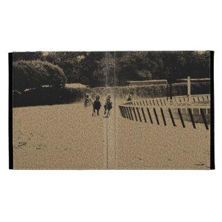 Head of the Stretch Grunge Muddy Track iPad Folio Covers
