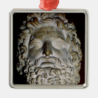 Head of Zeus Christmas Ornament
