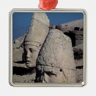 Head of Zeus-Oromandes and a goddess Christmas Ornament