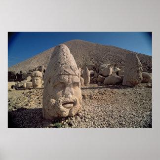 Head of Zeus-Oromandes Poster