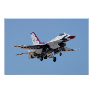 Head On USAF Thunderbird 7 Poster