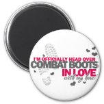 Head over Combat Boots Magnet