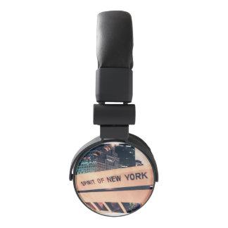 Head Phones with a Spirit of New York Photo Headphones