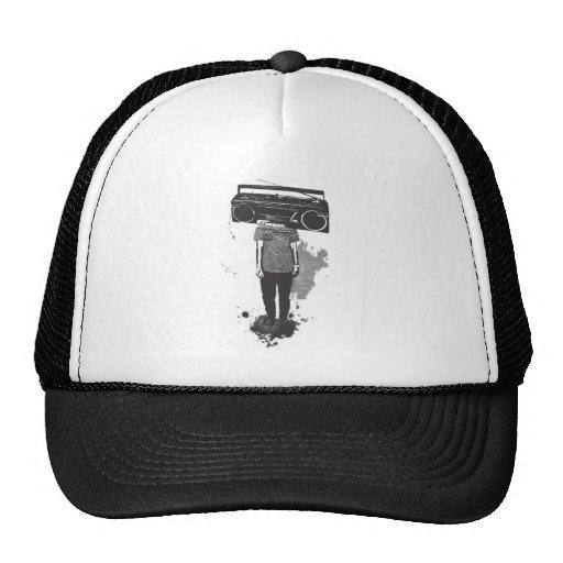 head radio gorras de camionero