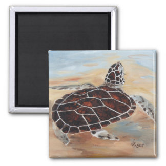 Head s Up Turtle Magnet