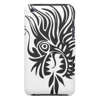 Head shot of dragon barely there iPod case