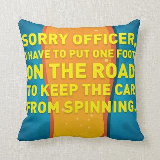 Head Spins Pillow