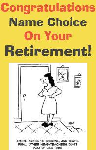 funny teacher retirement cards zazzle uk
