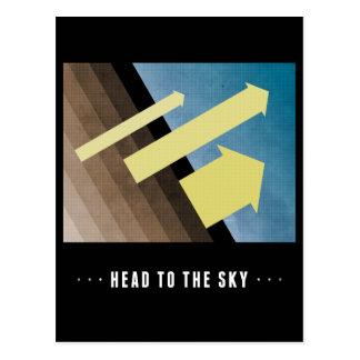 Head To The Sky Postcard