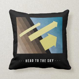 Head To The Sky Throw Cushion