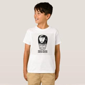 Head Trash  Anonymous Kids Shirt