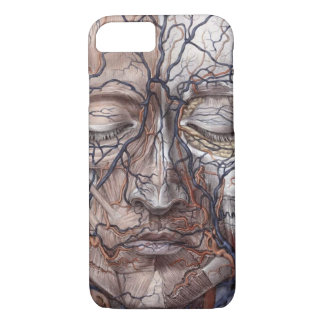 Head Veins and Muscles iPhone 8/7 Case