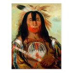 Head war chief of the Blood Indians. Postcards