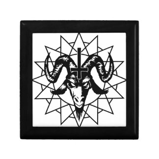 Head with Chaos Star (black) Gift Box