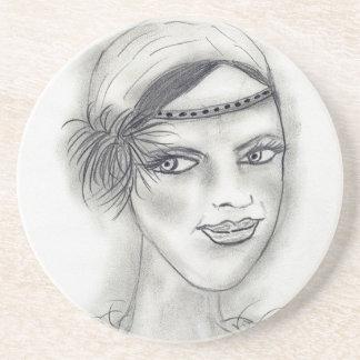 Headband Deco Girl Coaster