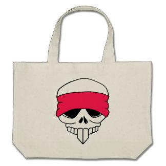 Headbanded Skull Bag