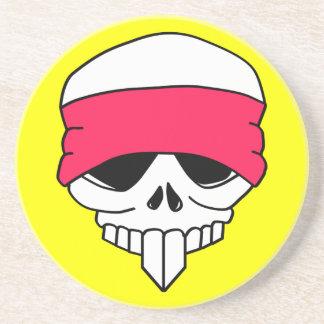 Headbanded Skull Coaster