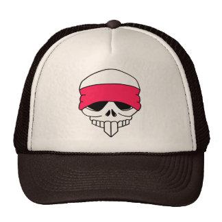 Headbanded Skull Hat