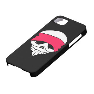 Headbanded Skull iPhone 5 Cover