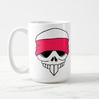 Headbanded Skull Mug