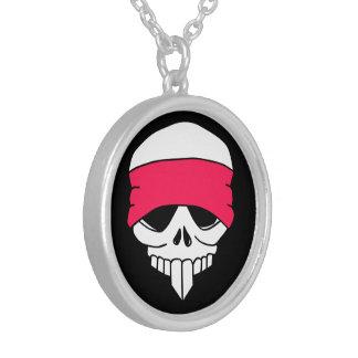 Headbanded Skull Necklace