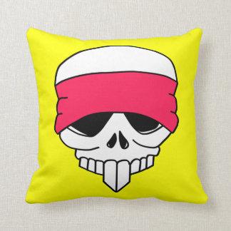 Headbanded Skull Pillow Cushions