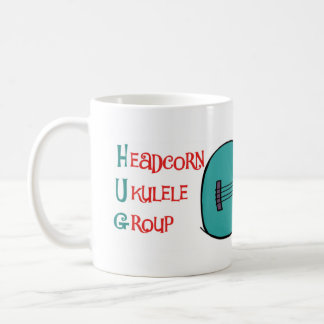 Headcorn Ukulele Group Mug (HUG MUG!)