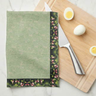 Heade Apple Blossom Flowers Floral Kitchen Towels