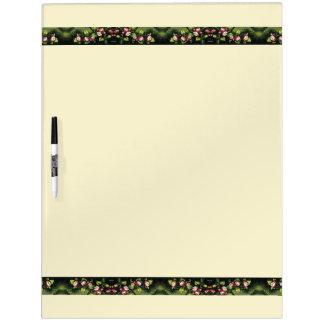 Heade Apple Blossoms Flowers Dry Erase Board