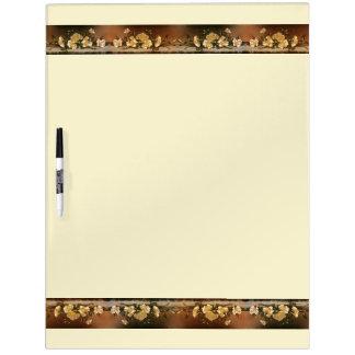 Heade Cherokee Rose Flowers Dry Erase Board