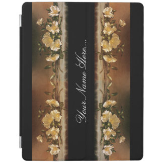 Heade Cherokee Rose Flowers Floral Trim Ipad Cover
