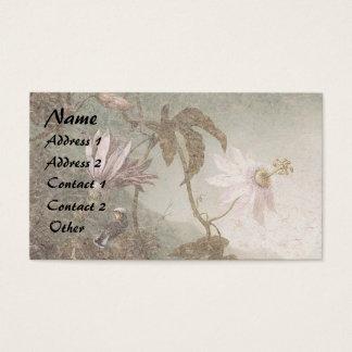 Heade Hummingbird Bird Flowers Business Cards
