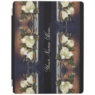 Heade Magnolia Flowers Floral Trim Ipad Cover