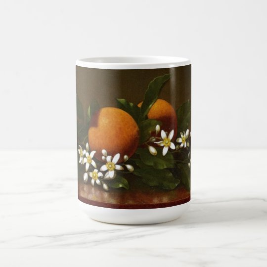 Heade Orange Blossoms Flowers Oranges Mug