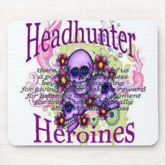 Headhunter Heroine Mousepad