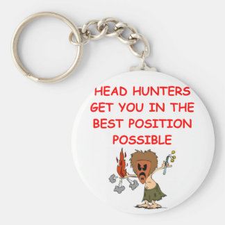 HEADHUNTER.png Basic Round Button Key Ring